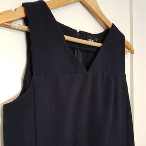 ASOS Navy Mod Style Shift Dress with Pockets